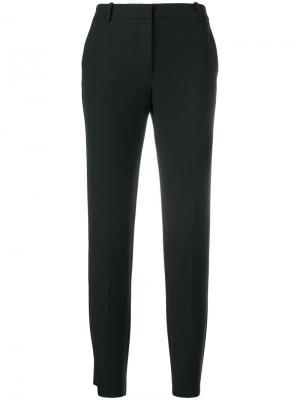 Skinny-fit tailored trousers Kiltie. Цвет: чёрный