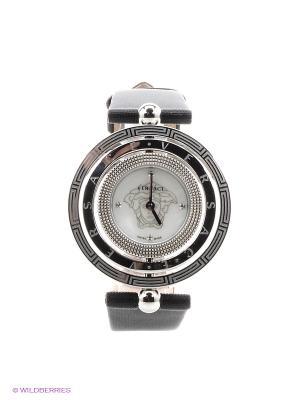Часы Versace. Цвет: серебристый, черный