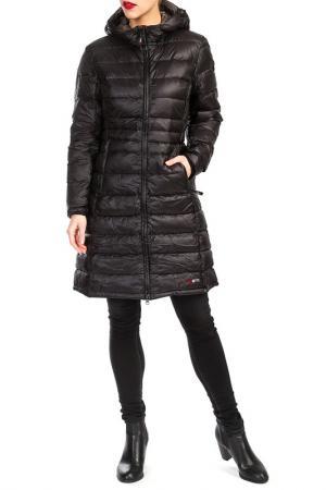 Пальто YETI. Цвет: черный