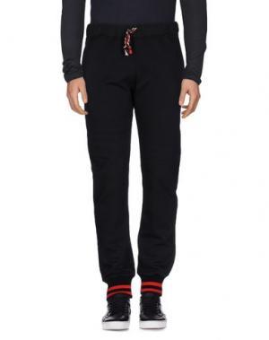Повседневные брюки MC MASTER OF CEREMONIES. Цвет: черный