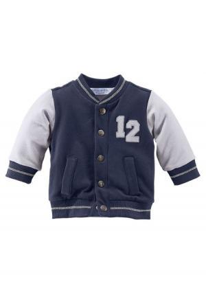 Куртка KLITZEKLEIN. Цвет: темно-синий/серый