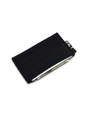 Мини кошелек кардхолдер K.So.U-Six K.So.. Цвет: черный