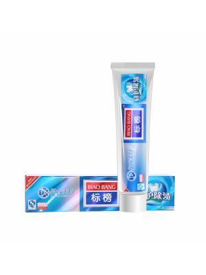 Зубная паста Здоровые десны и зубы с диоксидом кремния, 200 гр. Biao Bang. Цвет: белый