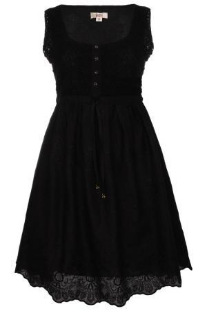 Платье Usha. Цвет: черный