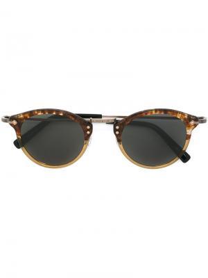 Солнцезащитные очки GMS 805 Masunaga. Цвет: коричневый