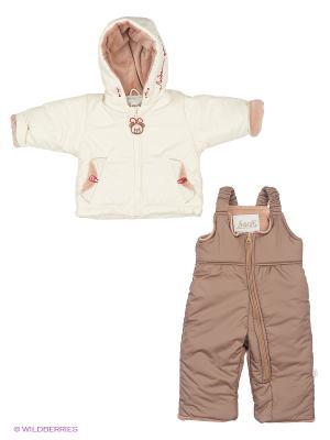 Комплект одежды Лео. Цвет: молочный