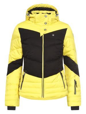 Куртка Icepeak. Цвет: желтый