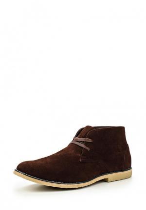 Ботинки Five Basics. Цвет: коричневый