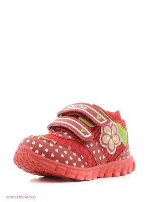 Ботинки Indigo kids. Цвет: красный