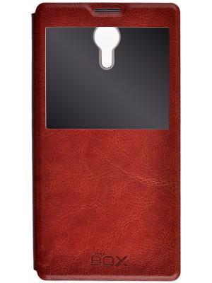 Lenovo P90 skinBOX Lux AW. Цвет: коричневый