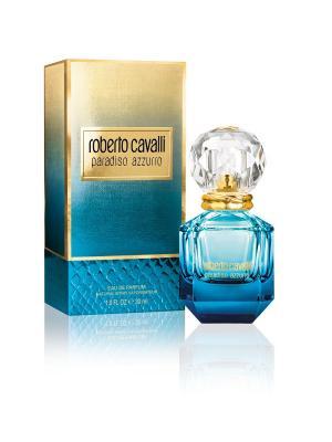 Парфюмерная вода Roberto Cavalli Paradiso Azzurro, 30 мл. Цвет: прозрачный