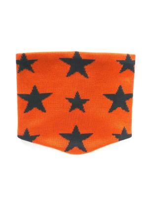 Снуд Logro-kids. Цвет: оранжевый, темно-синий