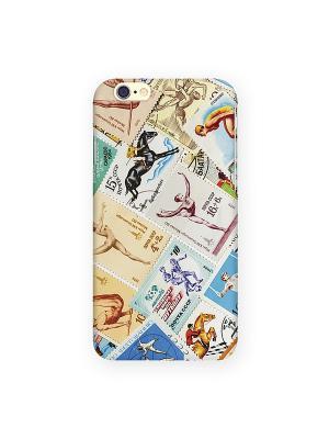Чехол для IPhone 6 Спорт (марки) Mitya Veselkov. Цвет: кремовый, красный