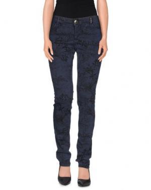 Повседневные брюки TOY G.. Цвет: грифельно-синий