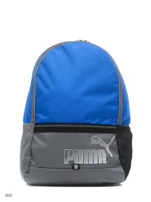 Рюкзак Phase Backpack II PUMA. Цвет: голубой, серый