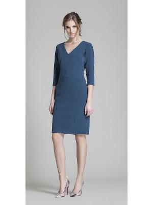 Платье Oky Coky. Цвет: темно-синий