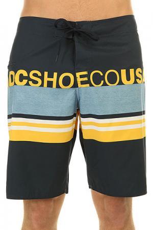 Шорты пляжные DC Dogdays 20 Blue Iris Shoes. Цвет: синий,голубой,желтый
