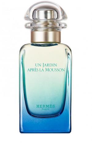 Туалетная вода Un Jardin Apres La Mousson Hermès. Цвет: бесцветный