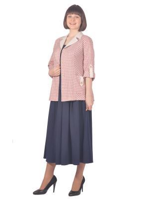 Жакет Томилочка Мода ТМ. Цвет: бежевый, розовый