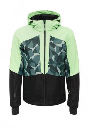 Куртка горнолыжная Icepeak. Цвет: зеленый