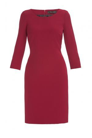 Alessandro Dellacqua Платье из искусственного шелка 177241 Dell'acqua. Цвет: красный