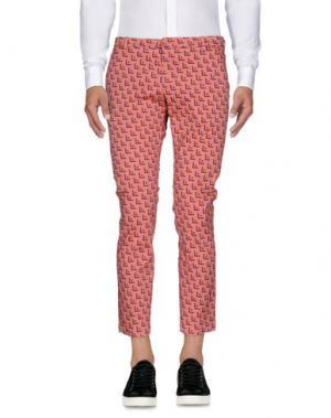 Повседневные брюки MICHAEL COAL. Цвет: лососево-розовый