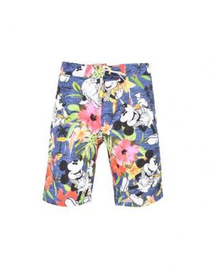 Пляжные брюки и шорты ÁGUA DE COCO por LIANA THOMAZ. Цвет: синий