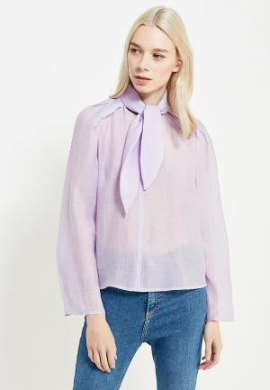 Блуза Mango. Цвет: фиолетовый