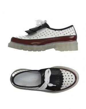 Обувь на шнурках LEQARANT. Цвет: белый