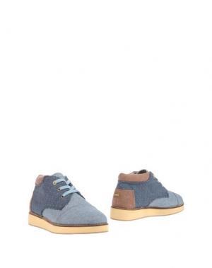 Полусапоги и высокие ботинки PAEZ. Цвет: небесно-голубой