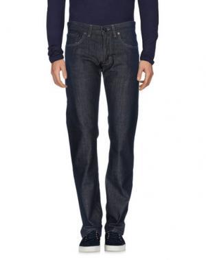 Джинсовые брюки MURPHY & NYE. Цвет: синий