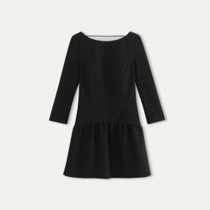 Платье TAXI BA&SH. Цвет: черный