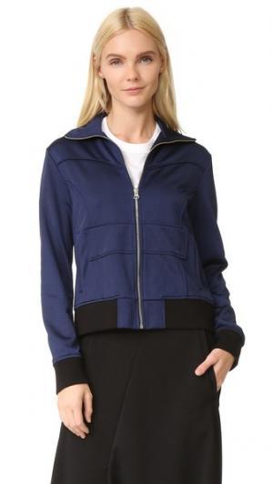 Спортивная куртка MM6. Цвет: темно-синий