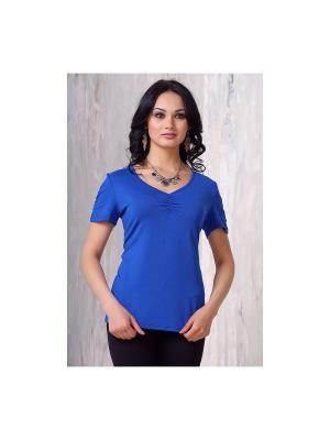 Блузка VAY. Цвет: индиго