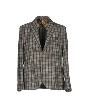 Пиджак BARBATI. Цвет: зеленый-милитари