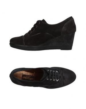 Обувь на шнурках MELLUSO. Цвет: стальной серый
