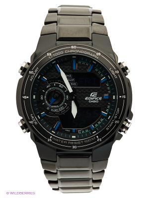 Часы EDIFICE EFA-131BK-1A CASIO. Цвет: черный, синий