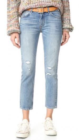Узкие укороченные прямые джинсы 505 C Levi's. Цвет: heat stroke