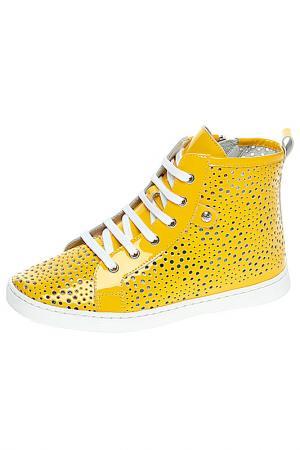 Ботинки BAILELUNA. Цвет: желтый