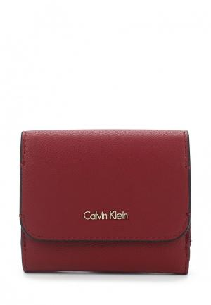 Кошелек Calvin Klein Jeans. Цвет: бордовый