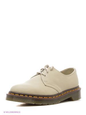 Ботинки Dr.Martens. Цвет: бежевый
