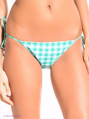 Плавки Juicy Couture. Цвет: зеленый, голубой