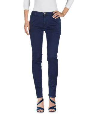 Джинсовые брюки GREY DANIELE ALESSANDRINI. Цвет: синий