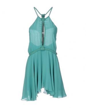 Короткое платье JAY AHR. Цвет: зеленый