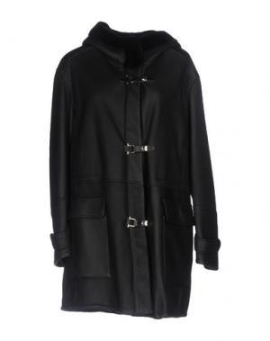 Пальто SPRUNG FRERES. Цвет: темно-синий
