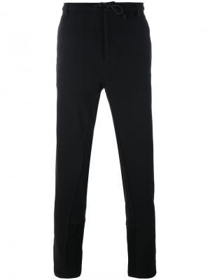 Спортивные брюки с эластичным поясом Ann Demeulemeester Grise. Цвет: чёрный