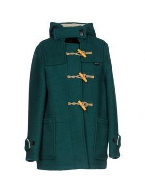 Куртка GLOVERALL. Цвет: зеленый