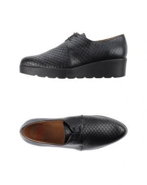 Обувь на шнурках MIKAELA. Цвет: черный