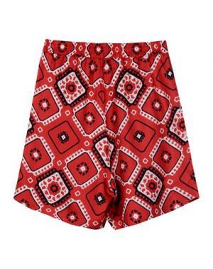 Повседневные шорты F.R.S. FOR RESTLESS SLEEPERS. Цвет: красный