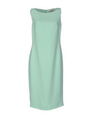 Платье до колена GAI MATTIOLO. Цвет: светло-зеленый